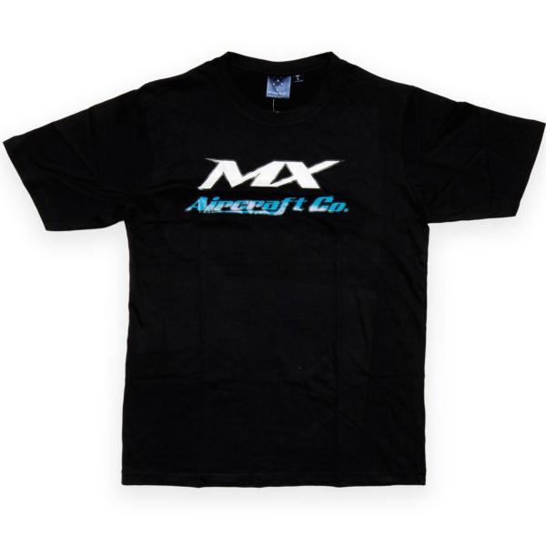 Winning Spirit Black T-Shirt Large Logo