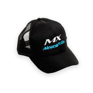 Trucker Style Black Cap